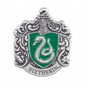 PINETS broszka Przypinka Harry Potter Slytherin